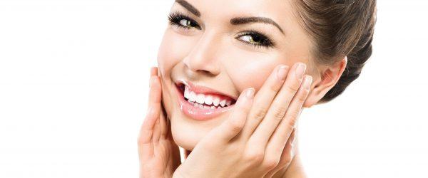 32917598 - beautiful spa girl touching her face. perfect fresh skin