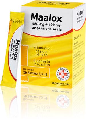 MAALOX*OS 20BUST 460MG+400MG