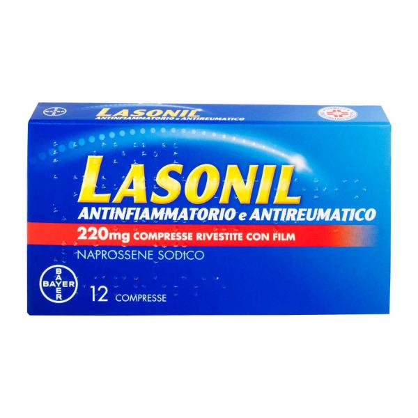 LASONIL ANTINFIAMM*12CPR 220MG