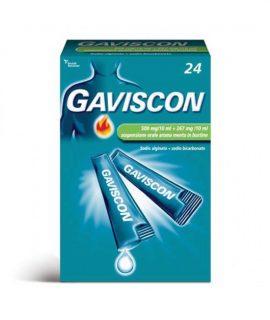 GAVISCON*24BUST 500+267MG/10ML